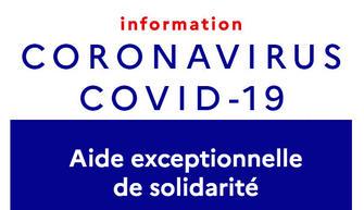 Aide exceptionnelle de solidarité covid 19