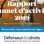 Rapport d'activité du défenseur des droits - 2019