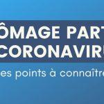 Chômage partiel et Coronavirus